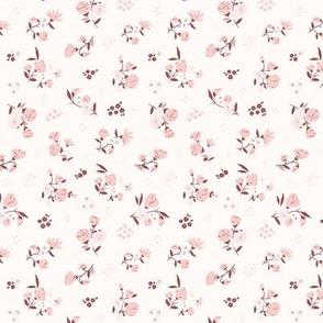 Daisy Alice Ditsy: Marsala + Dusty Pink