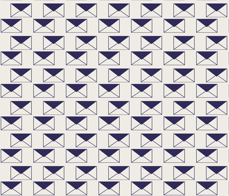 Envelop Envelopes in Mailman fabric by pennydog on Spoonflower - custom fabric