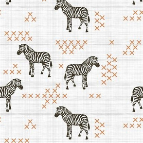 Cross Stitch Zebra
