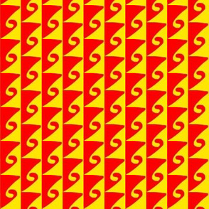 Waves Orange Yellow 4
