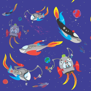 Space Rangers find Something Fishy