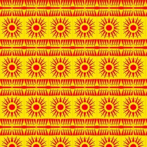 Sunburst Orange Yellow