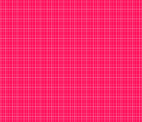 Envelop Check in Fuchsia fabric by pennydog on Spoonflower - custom fabric