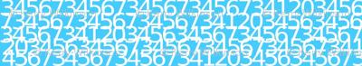Envelop Numbers in Sky
