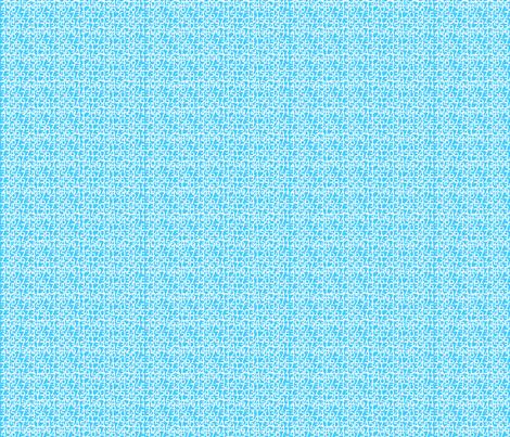 Envelop Numbers in Sky fabric by pennydog on Spoonflower - custom fabric
