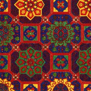 Japanese Tiles ~ Bright Mosaic