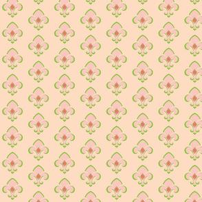 Fleur de Lis 233 - peach