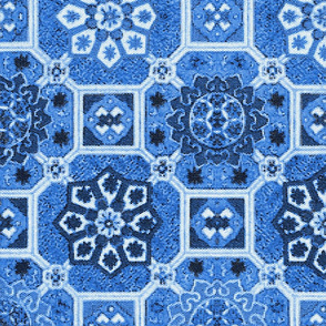 Japanese Tiles ~ Blue and White