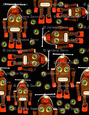 Little Brown Robots