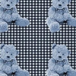 scruffy teddy-indigo