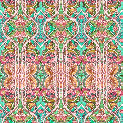 King Arthur's Garden fabric by edsel2084 on Spoonflower - custom fabric