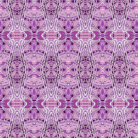From Twisted Minds Come Twisted Vines fabric by edsel2084 on Spoonflower - custom fabric