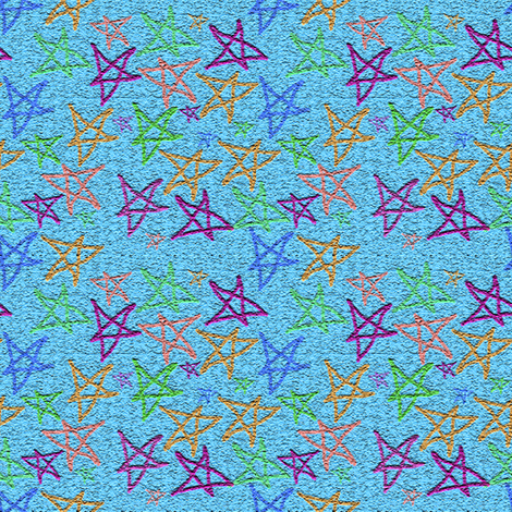 Rocket stars fabric anniedeb spoonflower for Rocket fabric