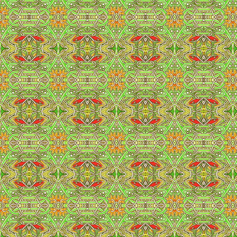 Celtic Circle Spring fabric by edsel2084 on Spoonflower - custom fabric
