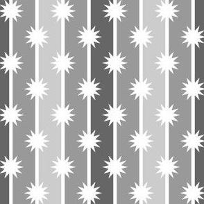 03850169 : starstripe 3 in 4 : greyscale
