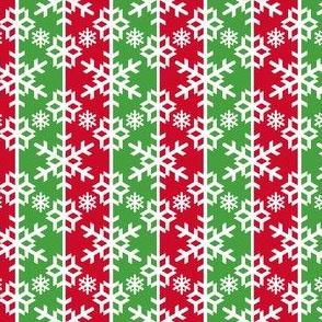snow bauble stripe - xmassy