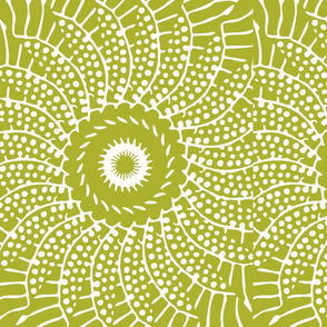 sunfloweR_GREEN