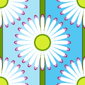 03850917 : daisy chain stripe : spoonflower0263