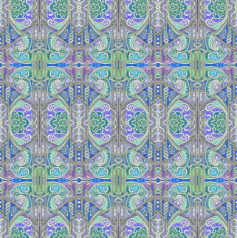 Midnight Twister fabric by edsel2084 on Spoonflower - custom fabric