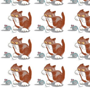 Cat_and_Mouse_Toy_-_Spoonflower