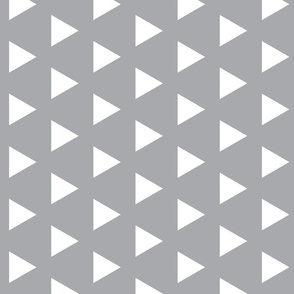 Triangles on Grey - Rotated