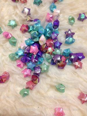 Jenny's origami stars - small