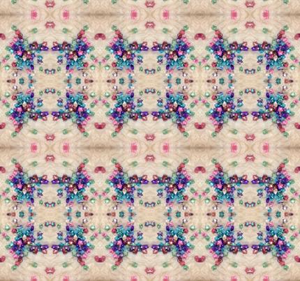 Jenny's origami stars - small fabric by kjs_mom on Spoonflower - custom fabric