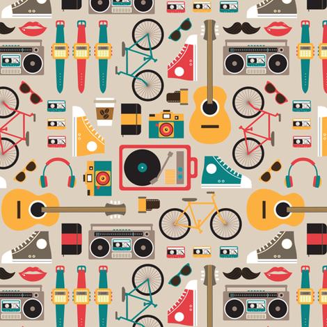 Hipsterrific fabric by cynthia_arre on Spoonflower - custom fabric