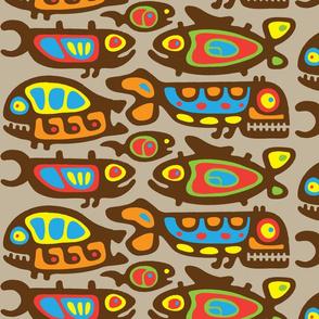 Fabulous Pisces Pattern