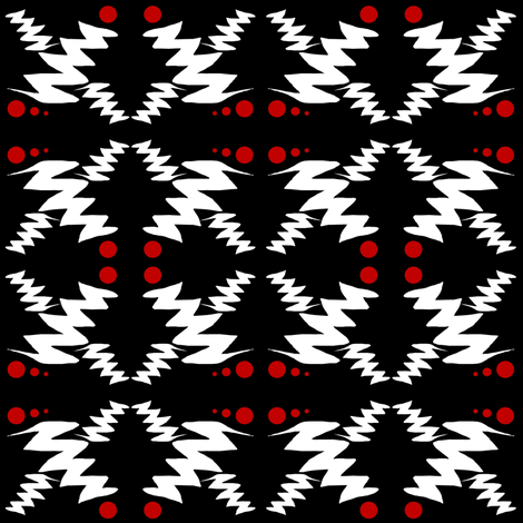 Zig Zaggy fabric by esheepdesigns on Spoonflower - custom fabric