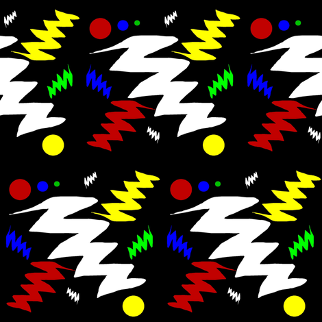 Zig Zag Multi fabric by esheepdesigns on Spoonflower - custom fabric