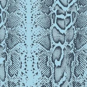 Snake skin blue