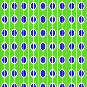 Beads Green Blue