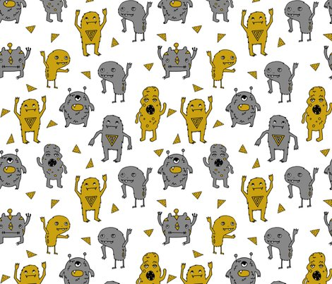 Rmonsters_grey_mustard_shop_preview