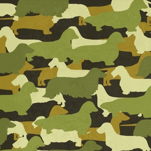 Distressed_Camo_Dachshund_Project_-_Pillow_Size