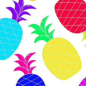 Pineapples_Bright__Fun_-_Pillow_Size