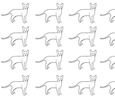 Rspoonflower-black-and-white-kitty-illustration_shop_preview