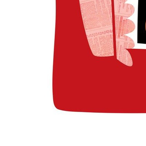 2019 Tea towel calendar - apricots