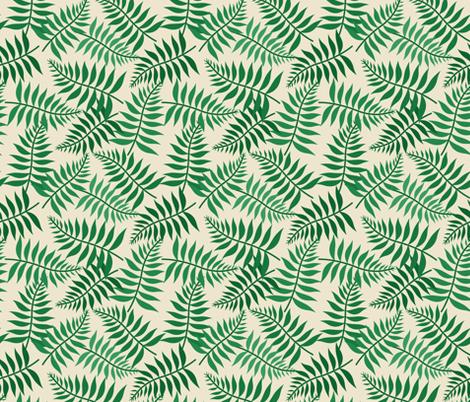 atrium_wicker_fern fabric by holli_zollinger on Spoonflower - custom fabric
