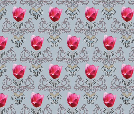 damask4c7 fabric by art_into_life on Spoonflower - custom fabric