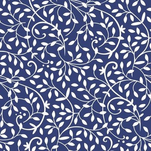 Curly Vine Navy
