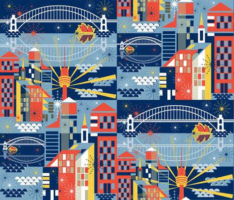 Sydney Celebrates fabric by paula's_designs on Spoonflower - custom fabric
