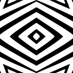 Tribal Diamonds and Squares
