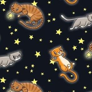 Astro Cats! Black