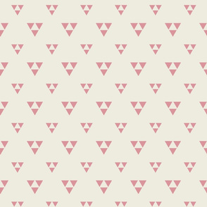 Trilogy Triangles-Lined-Cream & Gypsy Rose