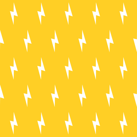 white lightning bolt on yellow wallpaper - pencilmein ...