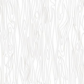 Woodgrain - White with Grey grain - Small