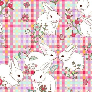 Easter bunny pastel ♥