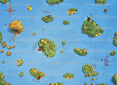 Scoundrels Game Map