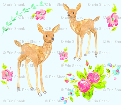 springtime fawns